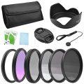 BPS 58mm Objektiv - Filter Zubehör-Set Filterset , beinhaltet:UV Filter + CPL...