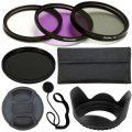 PLR Optics 52 mm Profi-Objektiv-Zubehör-Set - darin enthalten: Filter-Satz (UV, CPL, FLD,...